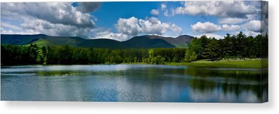 Catskill Mountain Panorama Canvas Print