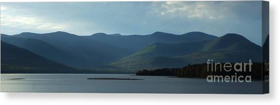 Catskill Mountains Panorama Photograph Canvas Print