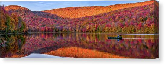 Catskills Panorama 1 Canvas Print