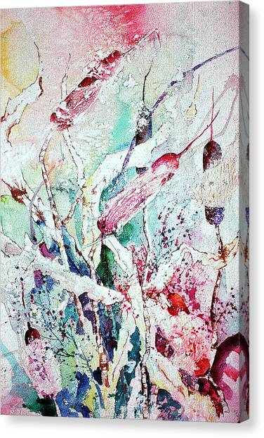 Cattails Five Canvas Print