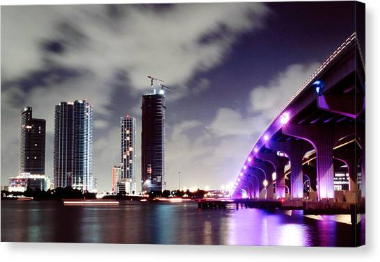 Causeway Bridge Skyline Canvas Print