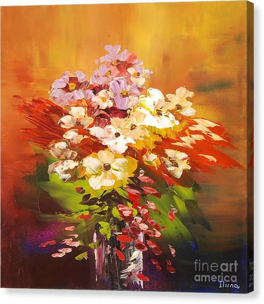 Cavalcade Of Color Canvas Print