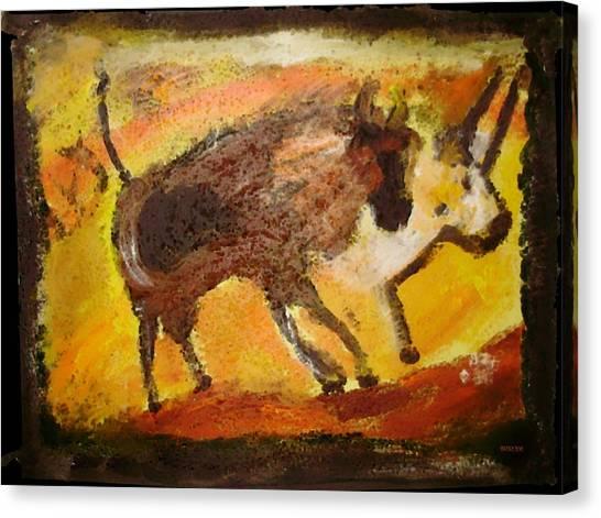 Cave Art Canvas Print