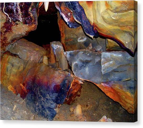 Cave Gems Canvas Print