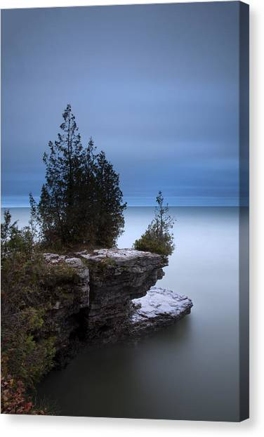 Cave Point Canvas Print