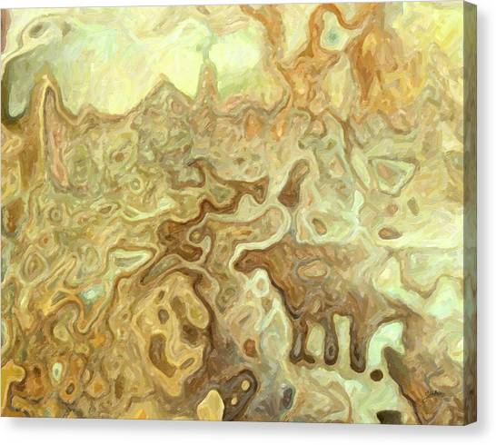 Atheism Canvas Print - Cavern Of Chaos by Joaquin Abella