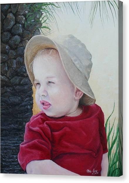 Cayden Canvas Print