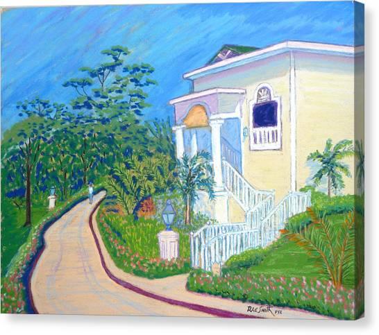 Cayo Levantado Canvas Print