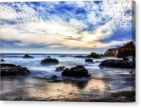 Cayucos Quietude Canvas Print