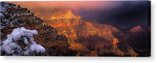 Wonders Of The World Canvas Print - Canyon Dawn by Mikes Nature