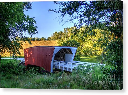Cedar Bridge  Canvas Print