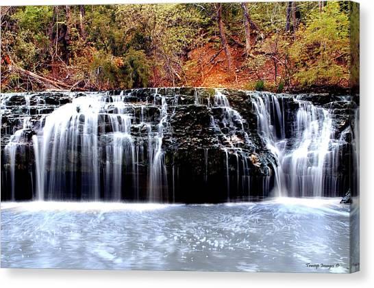 Cedar Creek Falls, Kansas Canvas Print