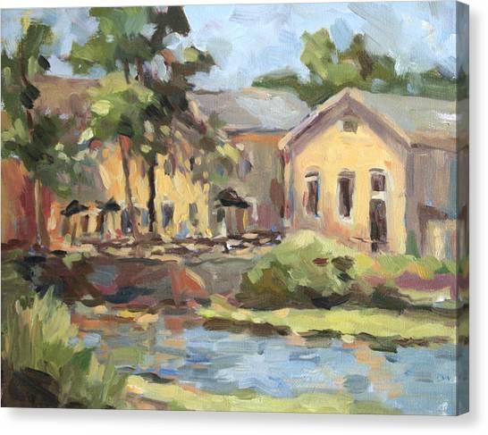 Cedarburg Mill Canvas Print by Jenny Anderson