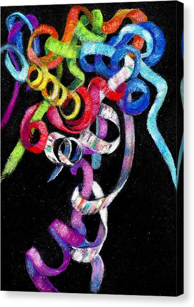 Celebrate Canvas Print by Carole Haslock