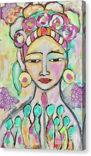 Celebrating Frida  Canvas Print