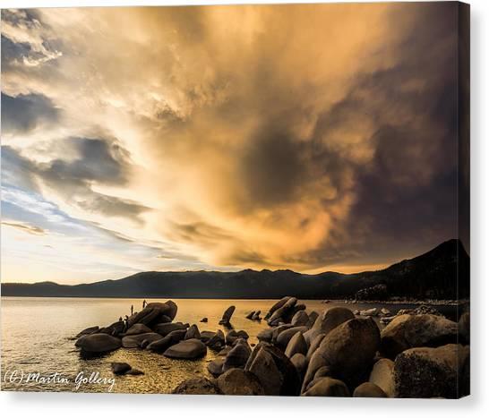 Celebrating Sunset Canvas Print