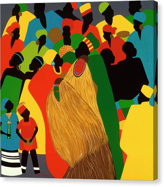 Canvas Print - Celebration by Synthia SAINT JAMES