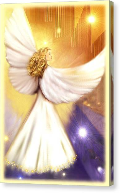 Celestial Angel Canvas Print