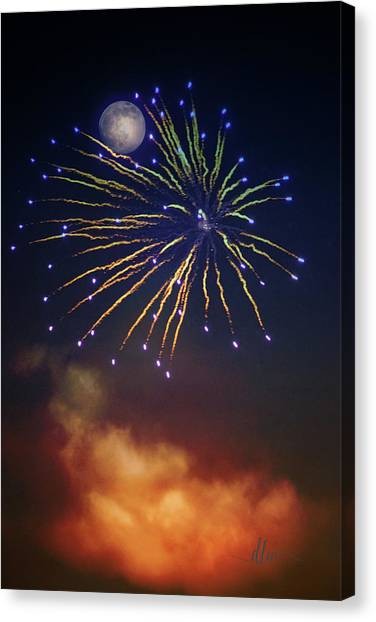 Celestial Celebration  Canvas Print