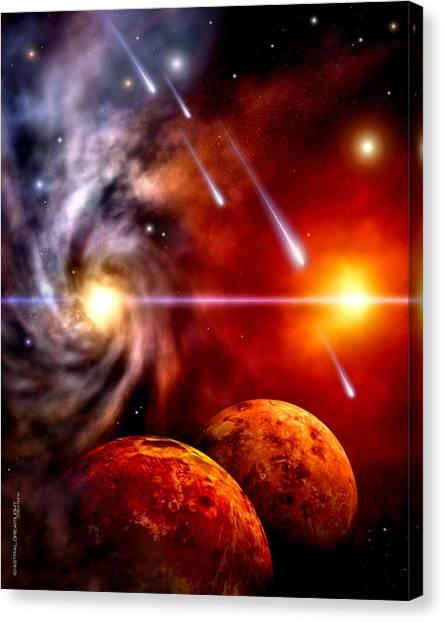 Celestial Canvas Print by Dreamlight  Creations