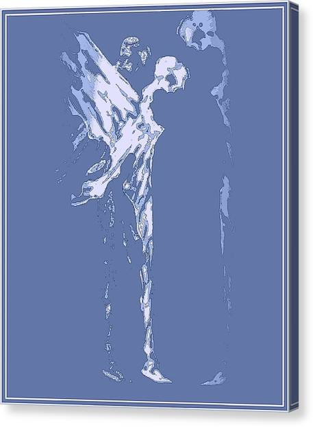 Celestial Peace Canvas Print by Emna Bonano