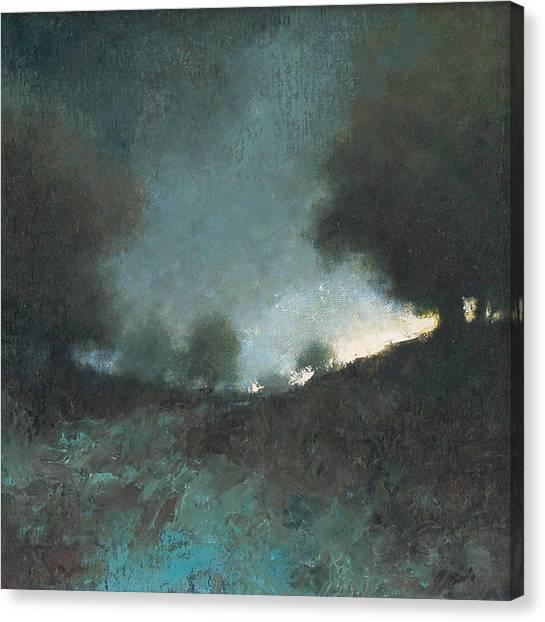 Canvas Print - Celestial Place #3 by Jim Gola