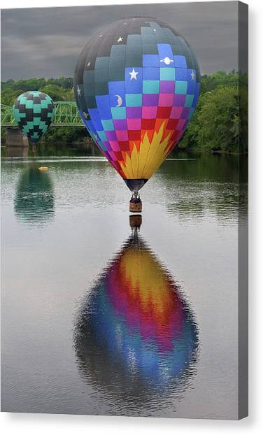 Celestial Reflections Canvas Print