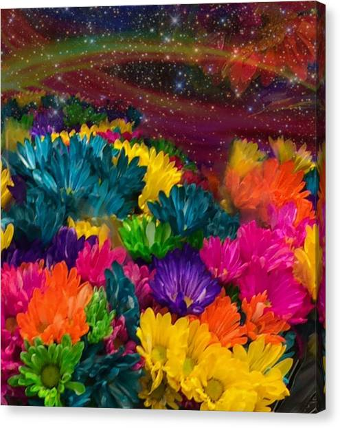 Celestial  Summer  Canvas Print
