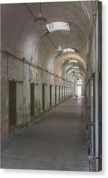 Cellblock Hallway Canvas Print