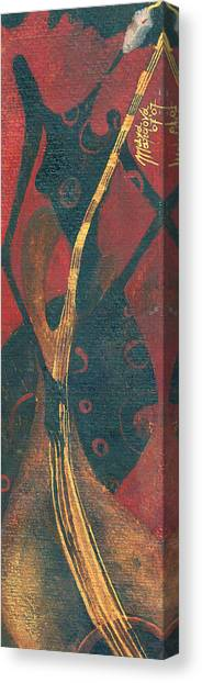 Cellist Canvas Print