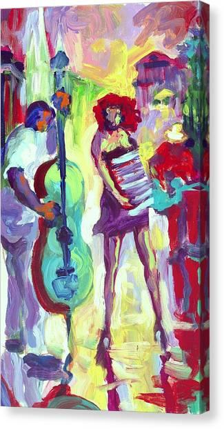 Cello Canvas Print by Saundra Bolen Samuel