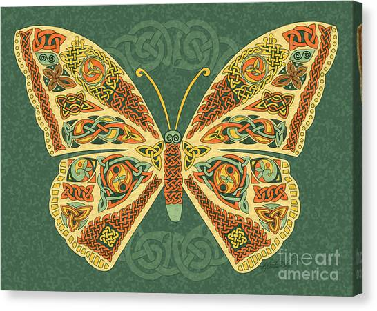 Celtic Butterfly Canvas Print