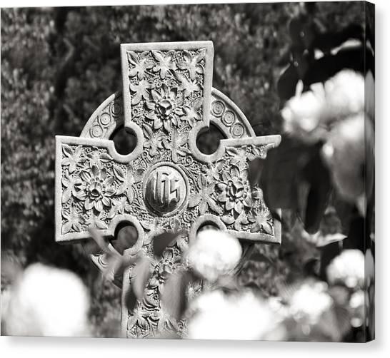 Medieval Art Canvas Print - Celtic Cross I by Tom Mc Nemar