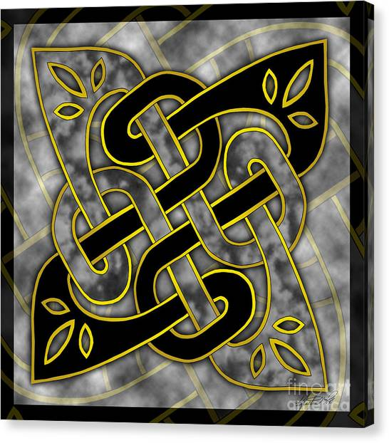 Celtic Dark Sigil Canvas Print