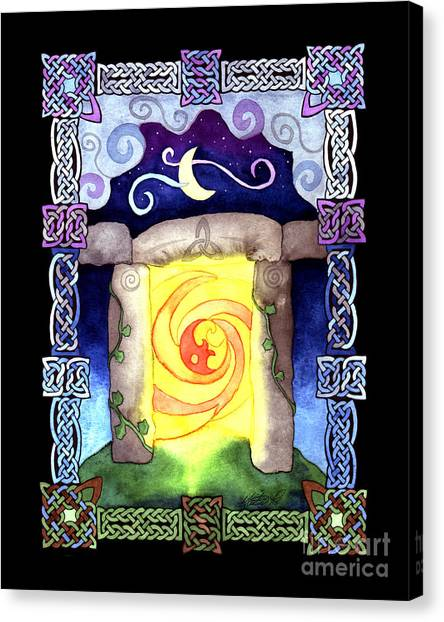 Celtic Doorway Canvas Print