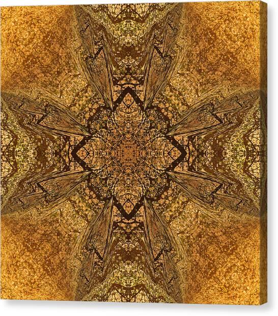 Celtic Mandala Abstract Canvas Print