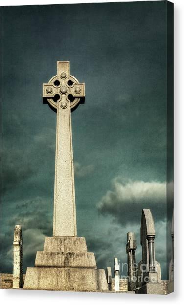 Andrew Canvas Print - Celtic Sanctuary by Evelina Kremsdorf