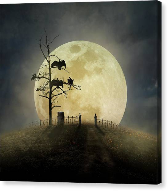 Cemetery Hill Canvas Print