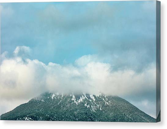 Mountain West Canvas Print - Centennial Obscured by Todd Klassy