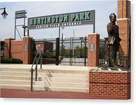 Center Field Entrance At Huntington Park  Canvas Print