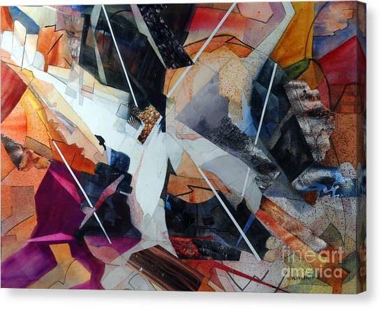 Centerfold I Canvas Print by John W Walker