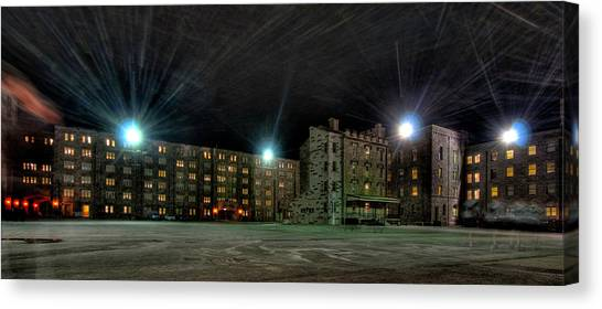 Central Area At Night Canvas Print