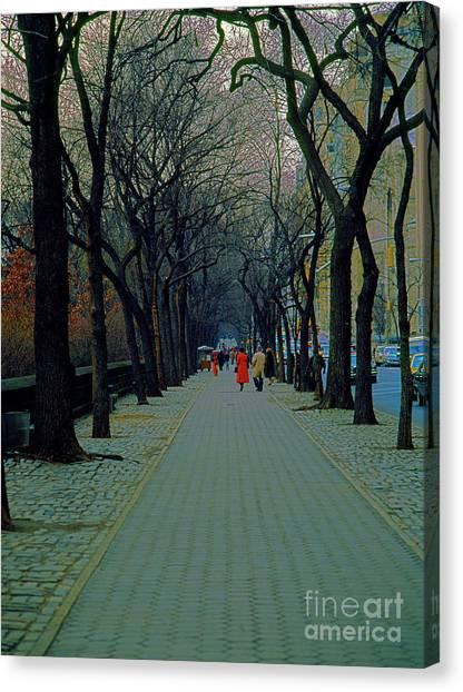 Central Park East Canvas Print