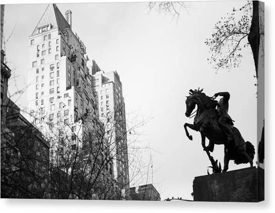 New York University Canvas Print - Central Park South by Jimmy Taaffe