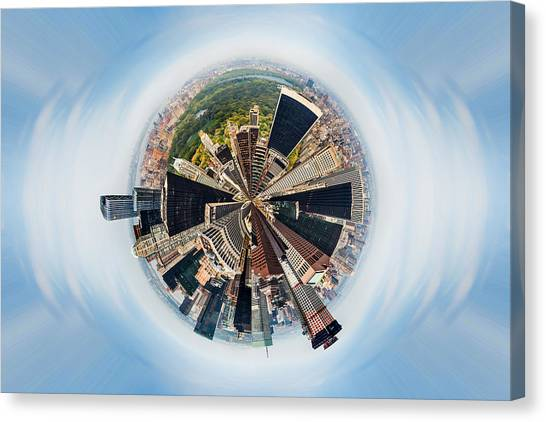 Central America Canvas Print - Eye Of New York by Az Jackson