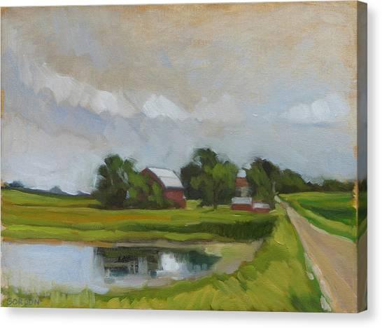 Canvas Print - Century Farm by Kim Gordon