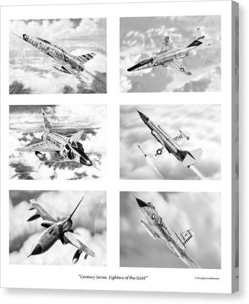 Century Series Drawings Canvas Print