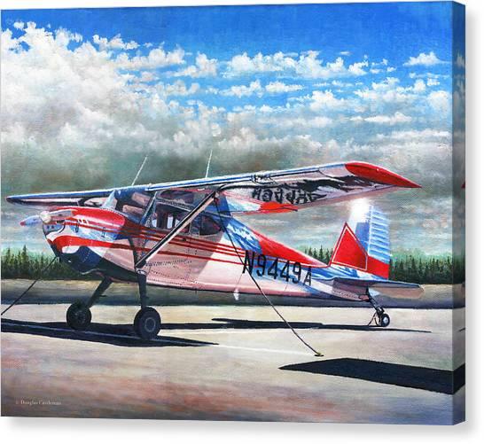 Cessna 140 Canvas Print