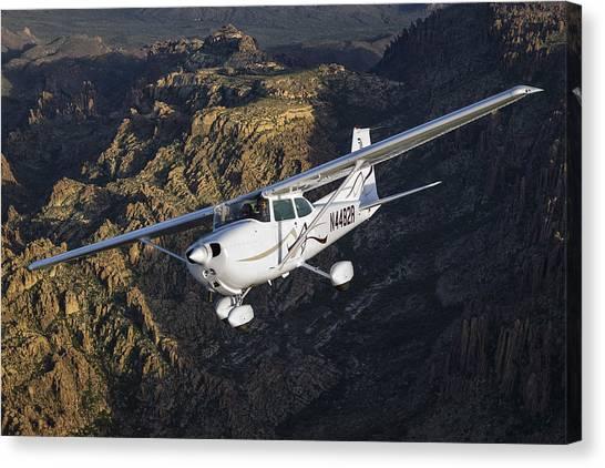 Cessna 172m Canvas Print