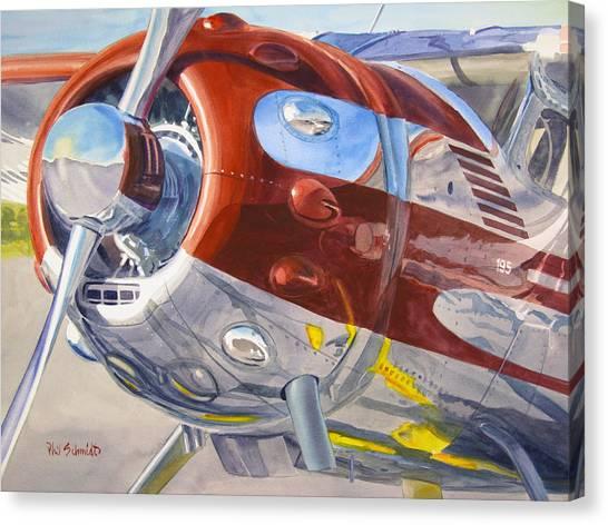 Cessnas Canvas Print - Cessna Businessliner by Phil Schmidt
